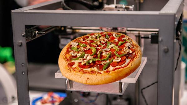 Ученые будут печатать еду на 3D-принтере