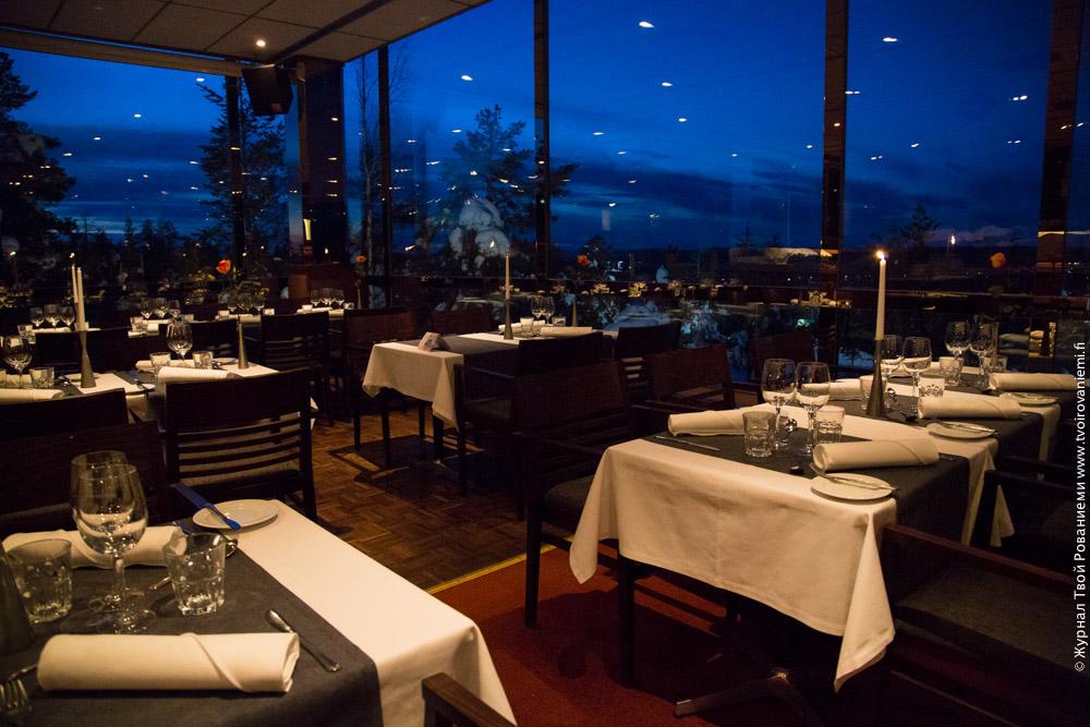 Ресторан в Скай-отеле