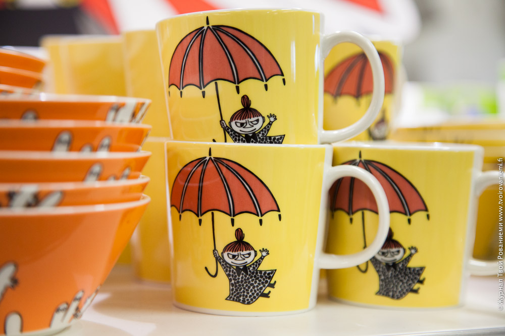 Чашки с героями Муми Троллей