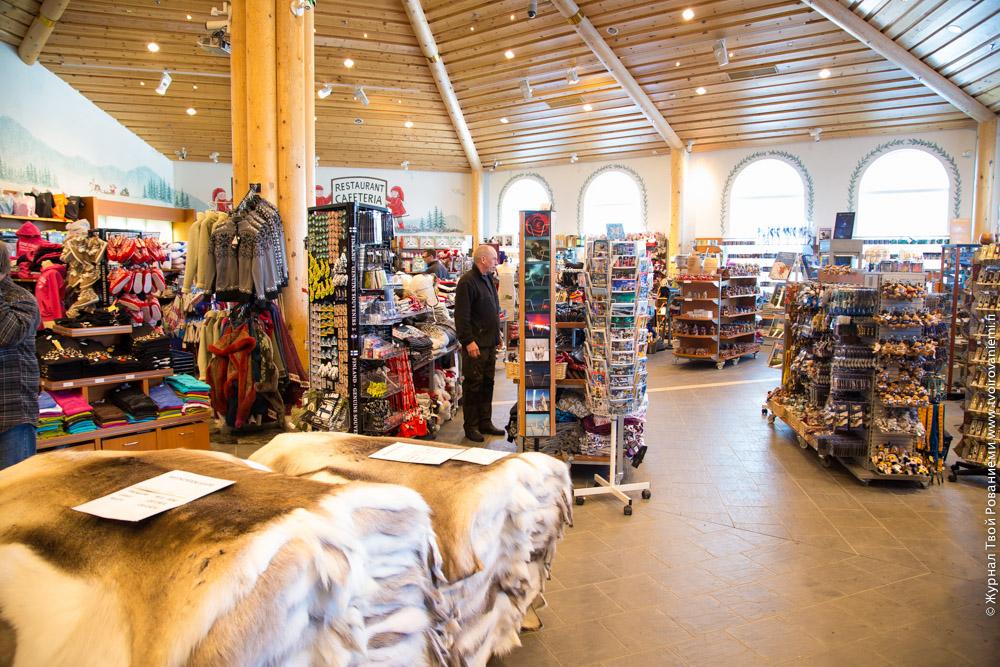 Дом Рождества – магазин и ресепшн коттеджей Santa Claus Holiday Village