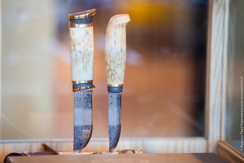 Ножи их дамасской стали Марттиини