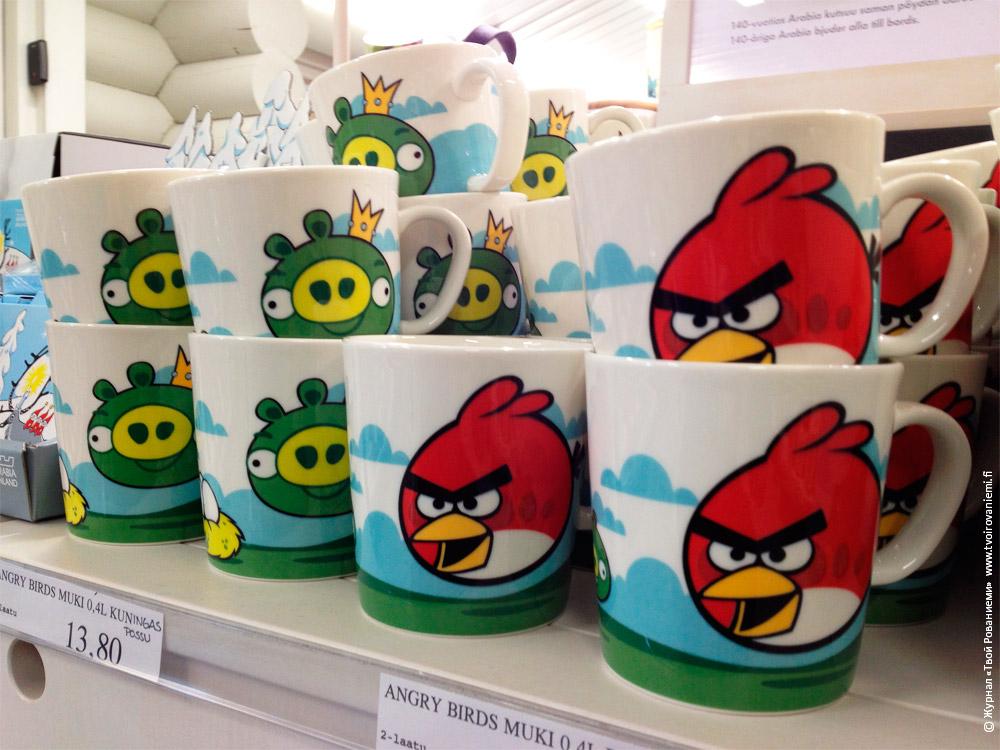 Чашка Angry Birds от Ииттала