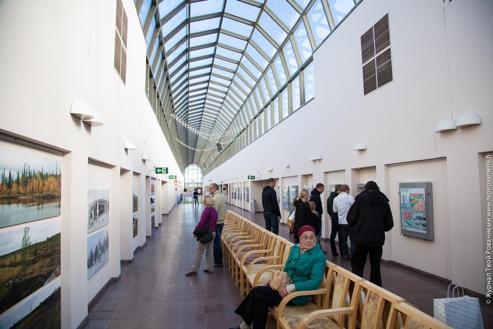 Музей Арктикум в Рованиеми. Лапландия, Финляндия.