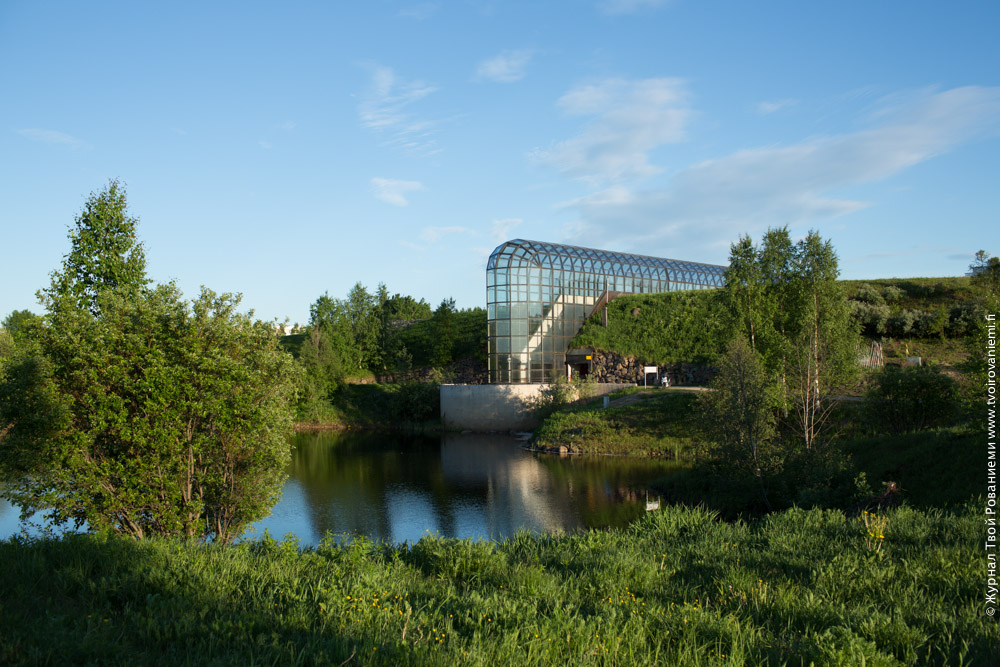Музей Арктикум в Рованиеми.