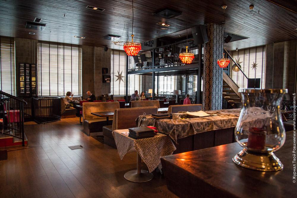 В гостинице Санта Клаус два ресторана – Гаисса и Зумап.