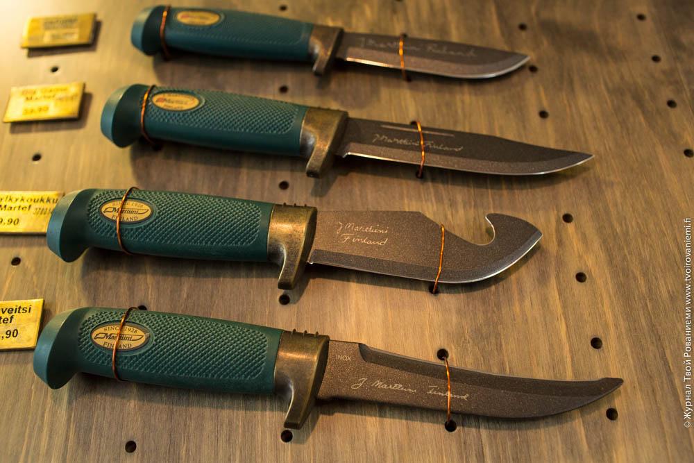 Охотничьи ножи Марттиини.