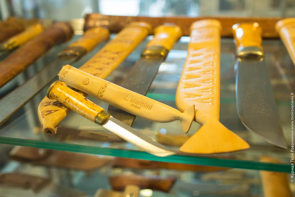 Ножи лапландских оленеводов Леуку