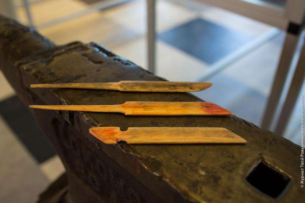Изготовление традиционных ножей.