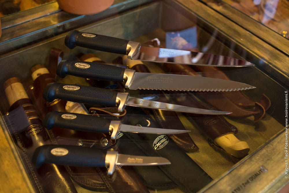 Кухонные ножи Марттиини.