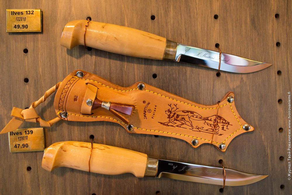 Классический финский нож Lynx фабрики Марттиини.