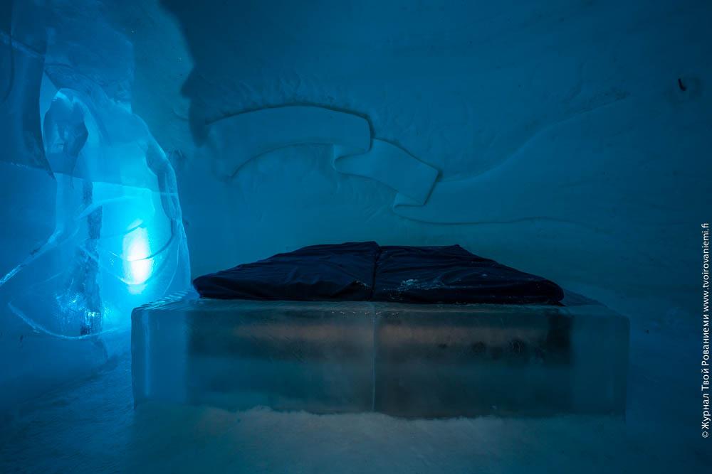 Ледяной мир Арктис в Деревне Санта Клауса