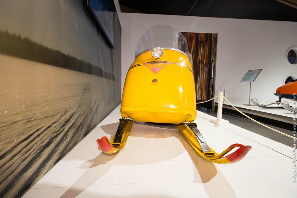 Раритетный снегоход Ski-Doo 1963 г