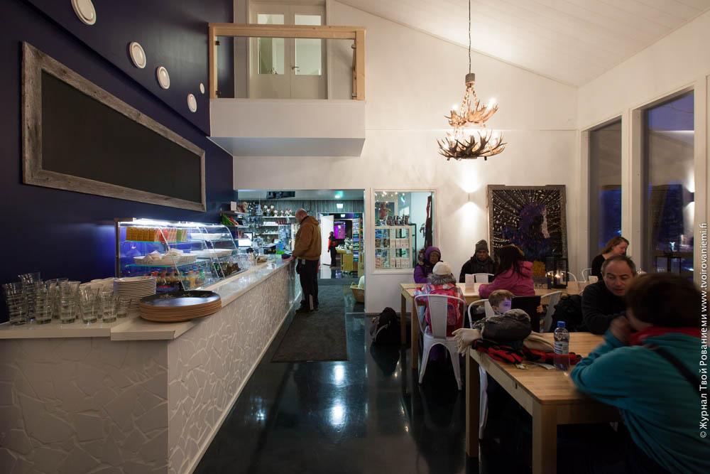 Ресторан ледяного мира Арктис