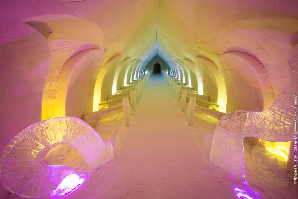 Здесь играют свадьбы в ледяном отеле Арктик Сноу