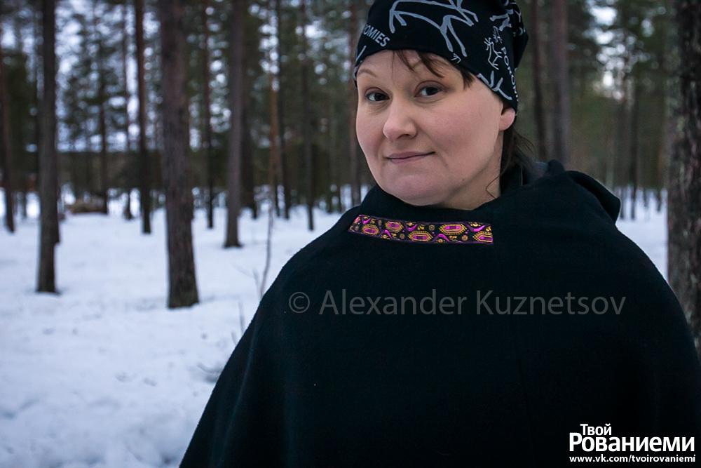 Анне Оллила –начальник Союза оленеводческих объединений