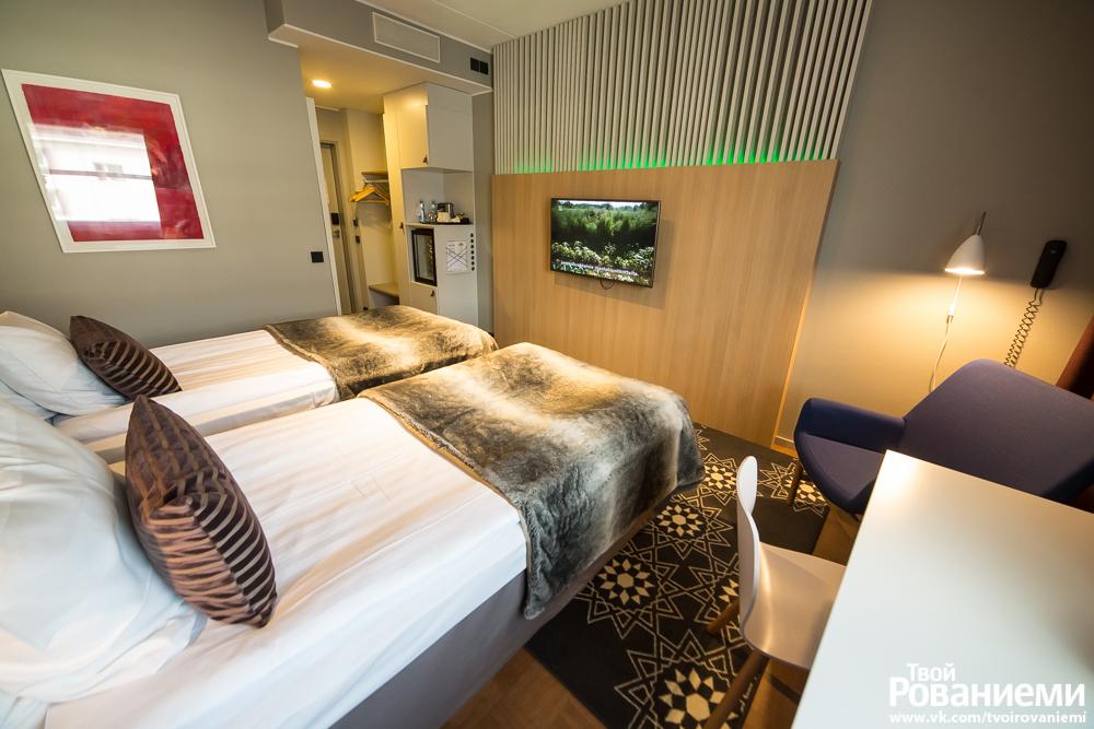 Отремонтированный номер гостиницы Сокос Ваакуна