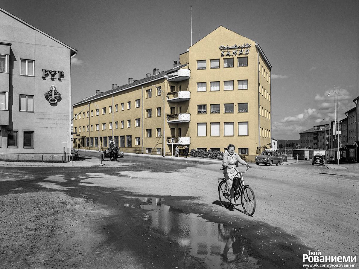 Раньше в здании Арктит Лайт отеля находилась мэрия Рованиеми.