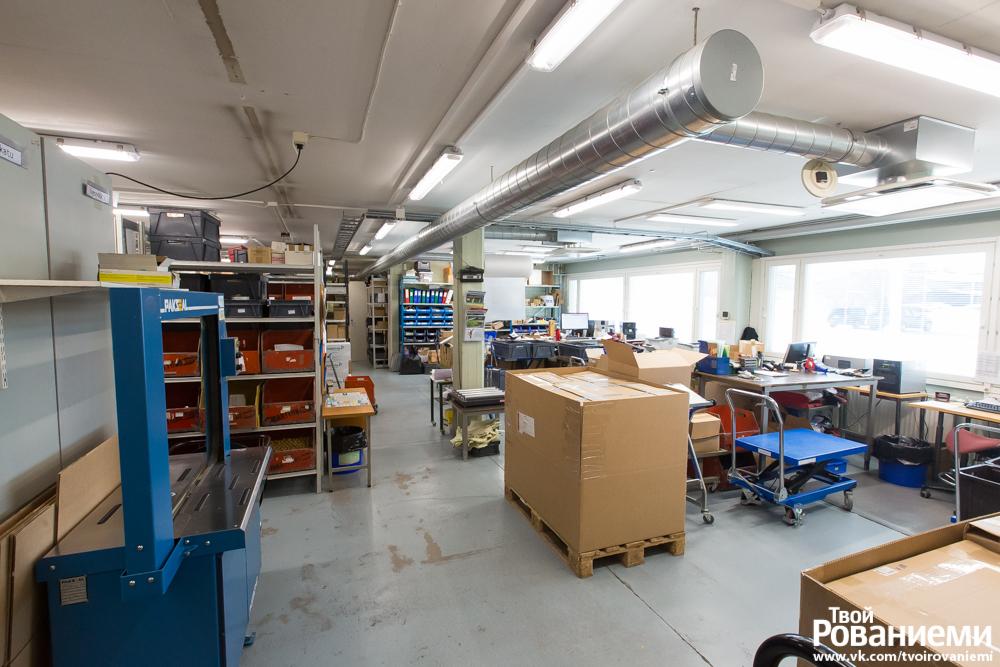 Фабрика Марттиини в Рованиеми.
