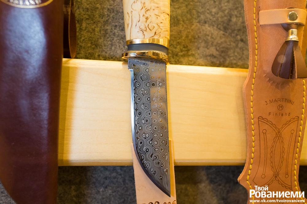 Финские ножи Марттиини в Рованиеми.