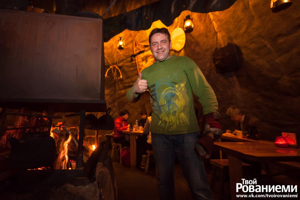Русский предприниматель и хозяин чума Santa's Salmon Place – Дмитрий.