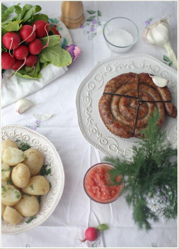 колбаса украинская жареная