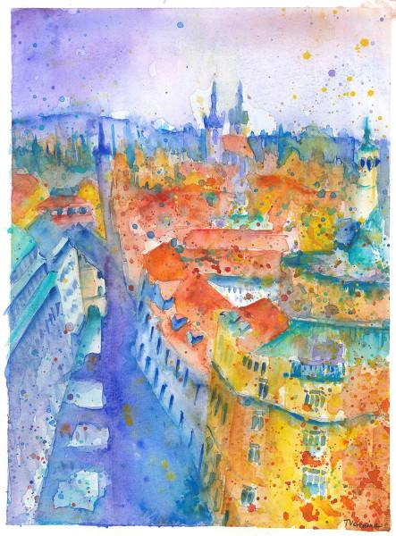 Prague view 72