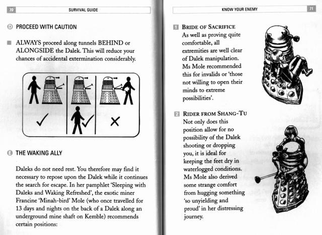 Dalek Survival Guide pp70-71