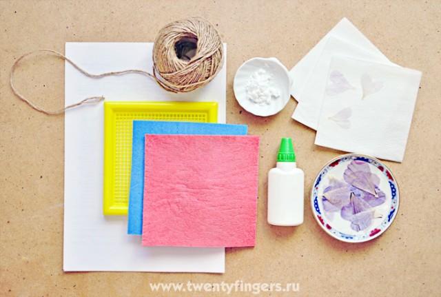 делаем декоративную бумагу - Самое интересное в блогах
