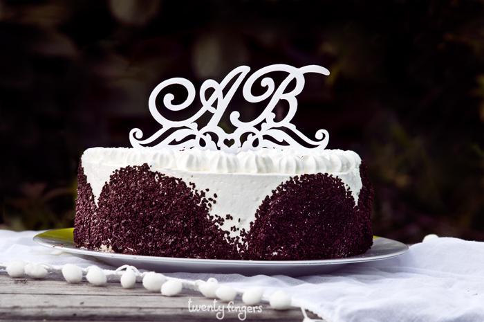 буквы в свадебном торте ю м фото тихо, спокойно, чуть