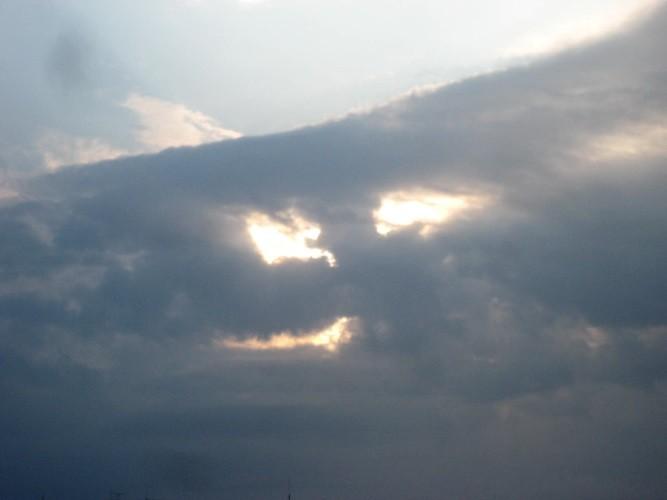 Облако ухмыляется