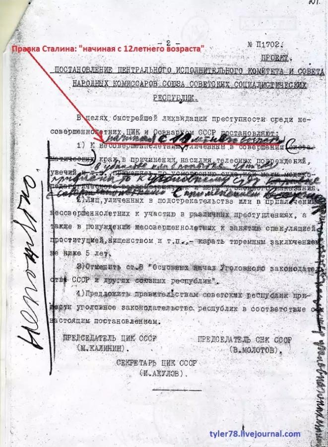 правка сталина