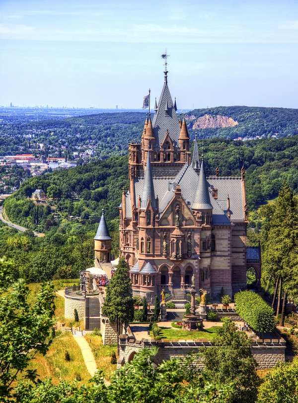 Замок Драхенбург, Германия
