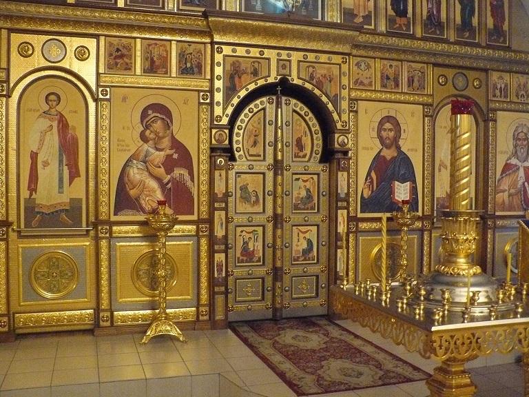 Алтарь Вознесенского собора