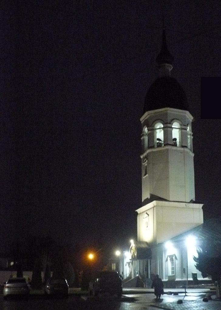 Вознесенский собор вечером