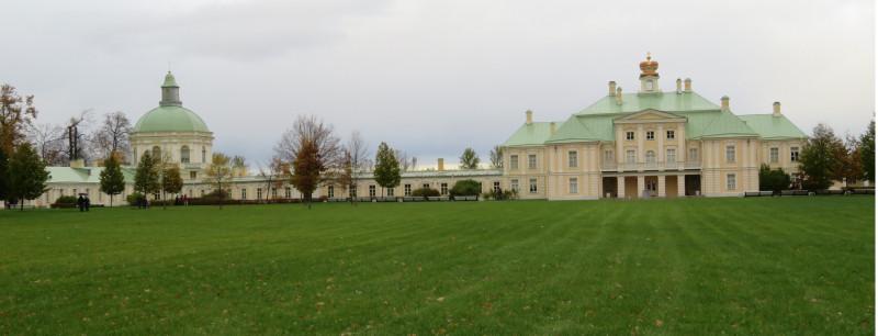 Большой Дворец со стороны Южного двора (на схеме №4)