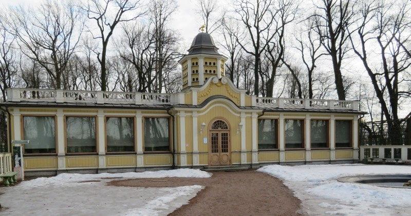 """Музей истории Летнего сада в павильоне """"Голубятня"""" работает лишь в летние месяцы"""