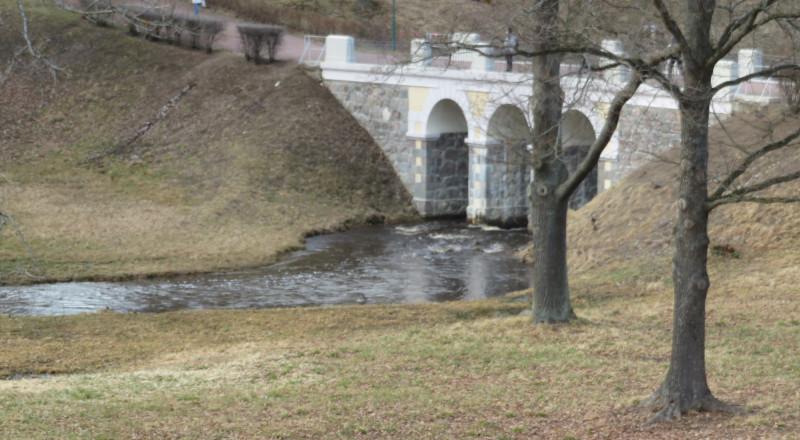 Петровский мост через Карасту