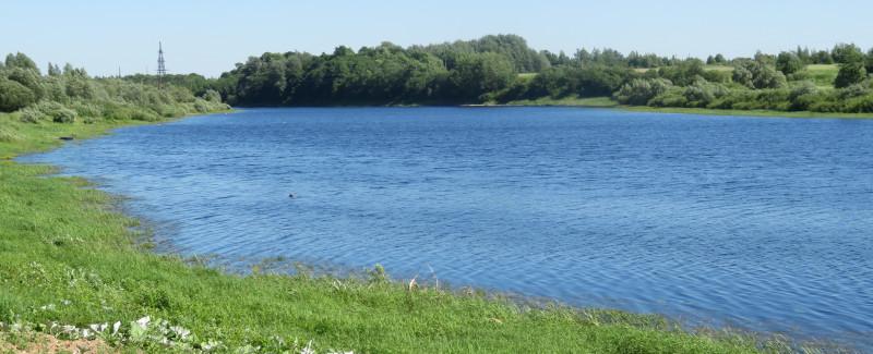 Вид на Шелонь с набережной Сольцов