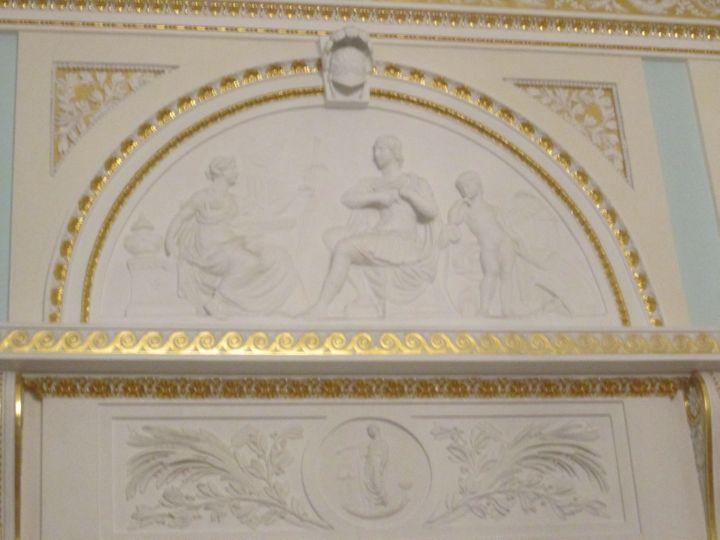 Лепнина Большого зала