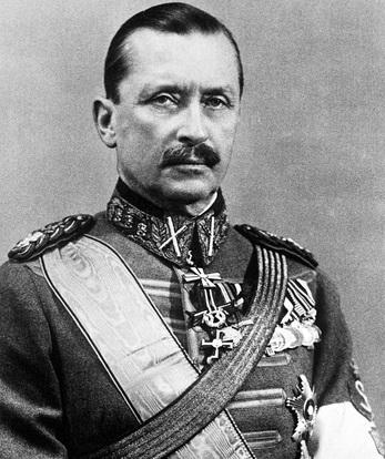 К.Г.Маннергейм (1867 - 1951), генерал-лейтенант русской армии, входивший в Свиту Его Императорского Величества; с1918 года финский военный и государственный деятель, маршал Финляндии