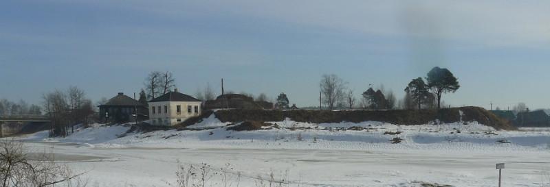 Остатки древних укреплений, расположенных на правом берегу Косторомы городища. Воины, оборонявшие Солигалич, не позволили отрядам Орды пройти в Заволочье