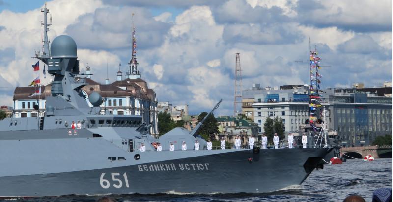 А это один из самых совершенных кораблей российских ВМФ
