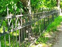Ограда дореволюционного особняка