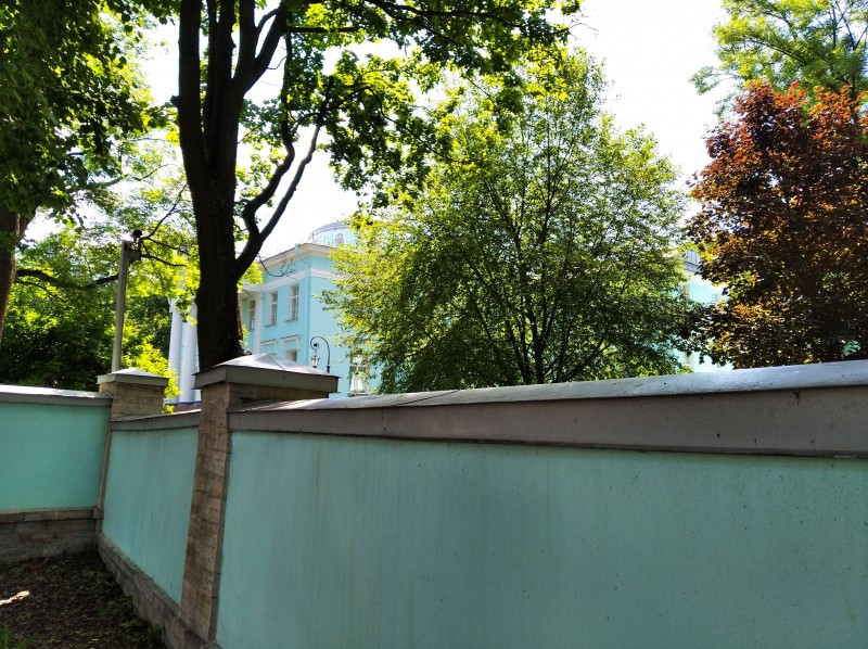 Ограда Голубой дачи