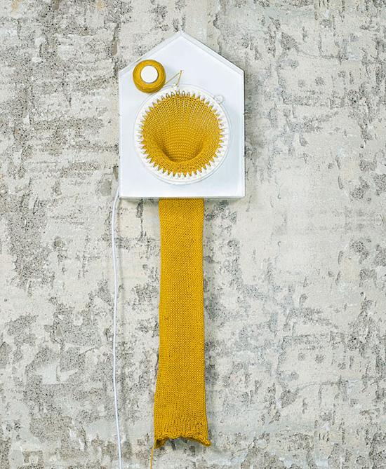 Вязаное время. Проект 365 Knitting Clock от Сирены Элизы Вильгельмсен