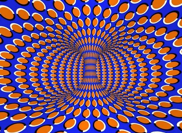 Opticalillusionrotatingvortex