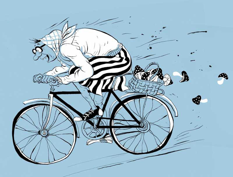 Картинки, картинка велосипеда прикольная