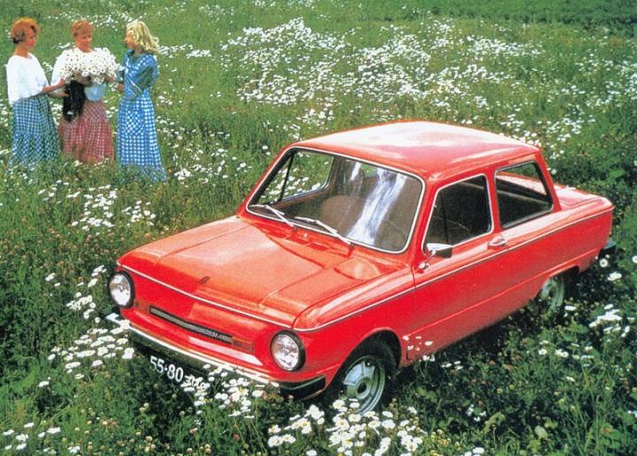 Реклама советского Запорожца ЗАЗ-968