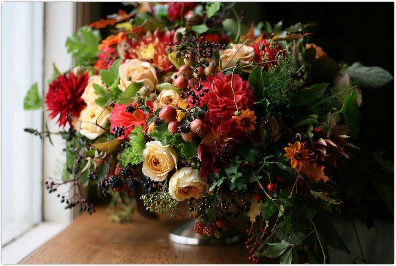 Дизайнерский букет цветов, цветы родина