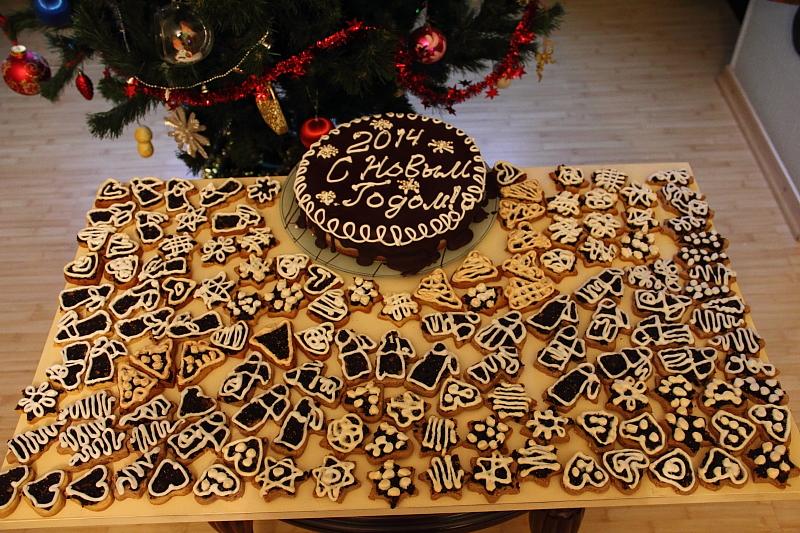 Печенье и торт
